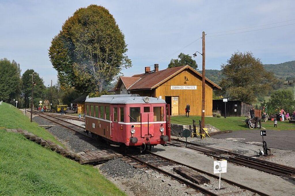 Muzejni vlak stanice Zubrnice