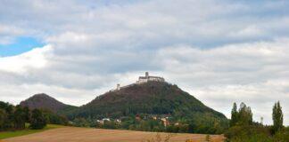 Pohled na hrad Bězděz