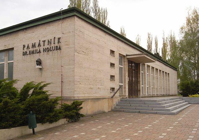 emil holub muzeum
