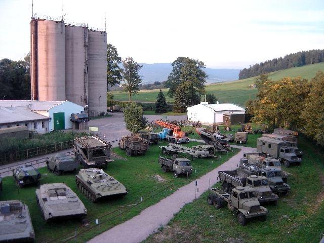 vojenske muzeum kraliky