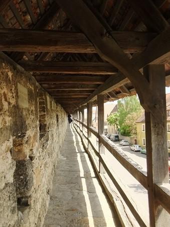 Rothenburg ob der tauber hradby