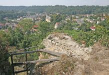 Pozustatky hradu Brandys nad Orlici