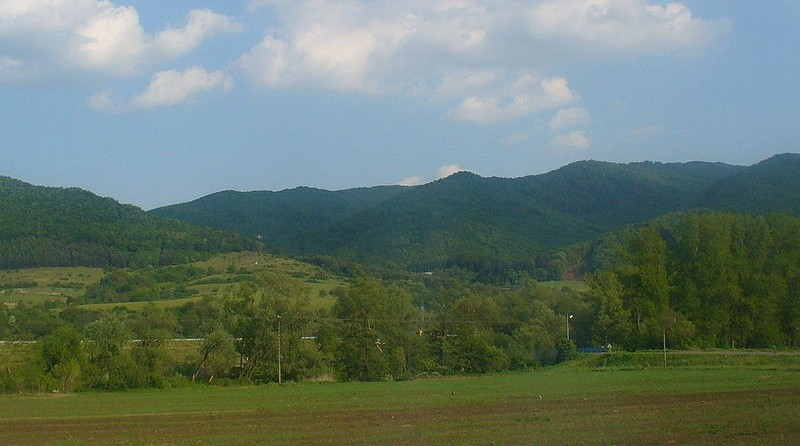 Stiavnicke vrchy