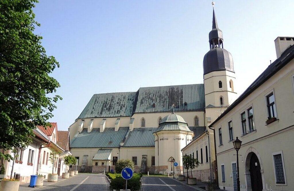 Trnava chram sv Mikulase
