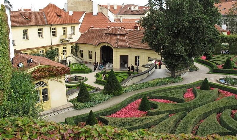 vrtbovska zahrada