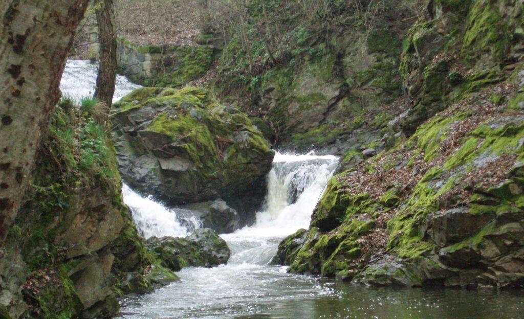 Hvizdalka vodopady