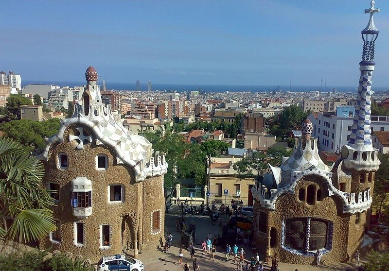 Parc guell panoramio