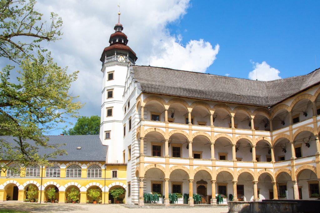 Velké Losiny zamek