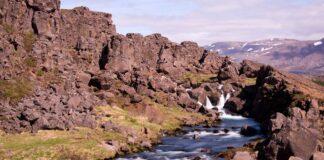 eka Oxara na Islandu Thingvellir
