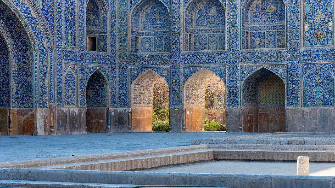 Památky v Iránu