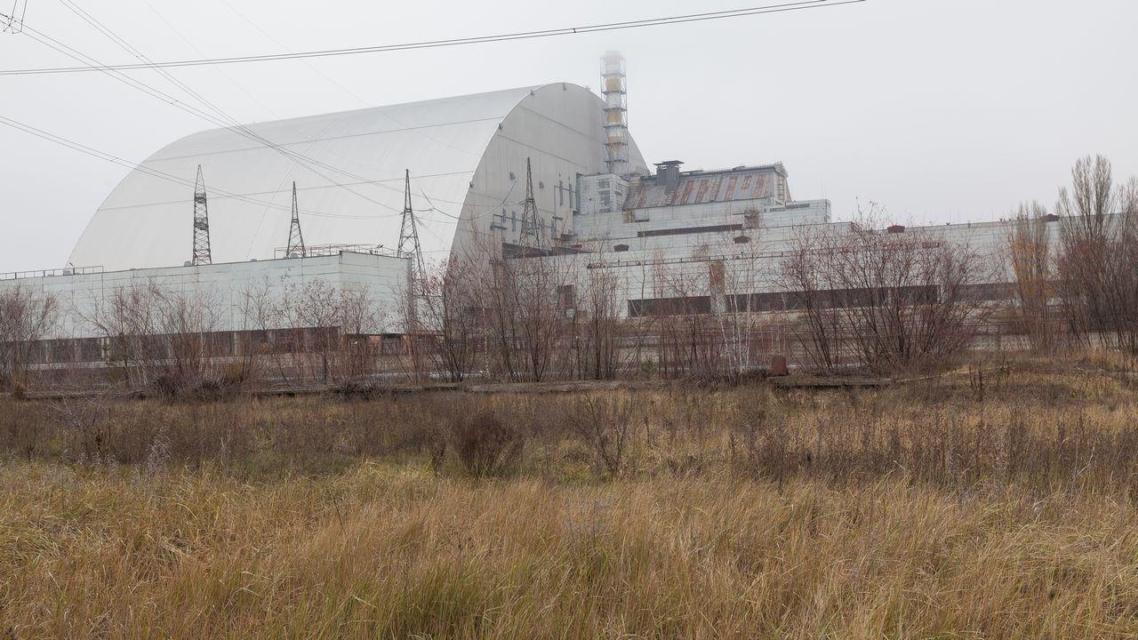 Blok elektrárny Černobyl