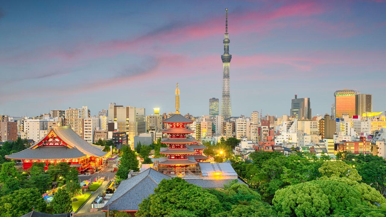Budovy v Tokiu