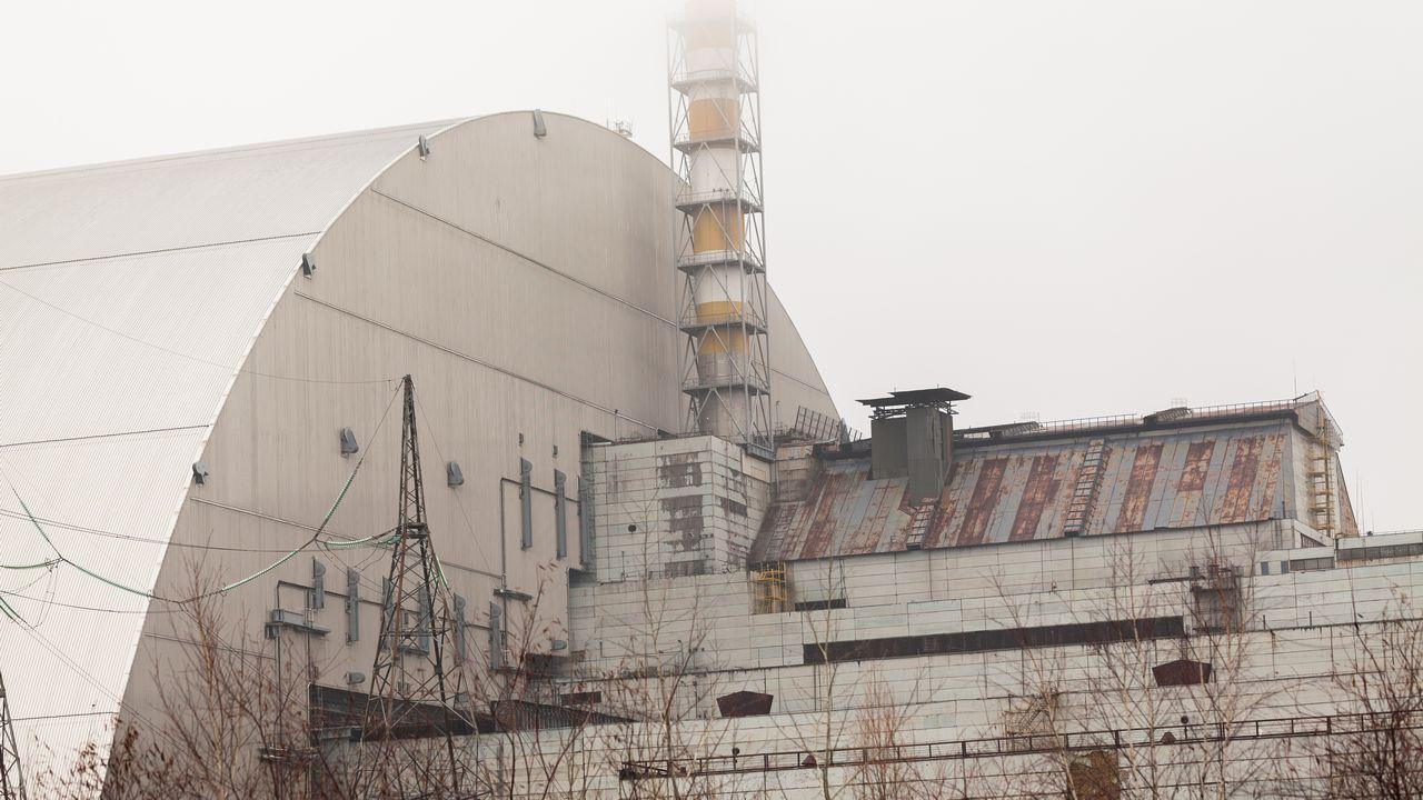 Jaderná elektrárna Černobyl - Ukrajina