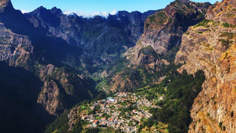 Divoká krajina na Madeiře