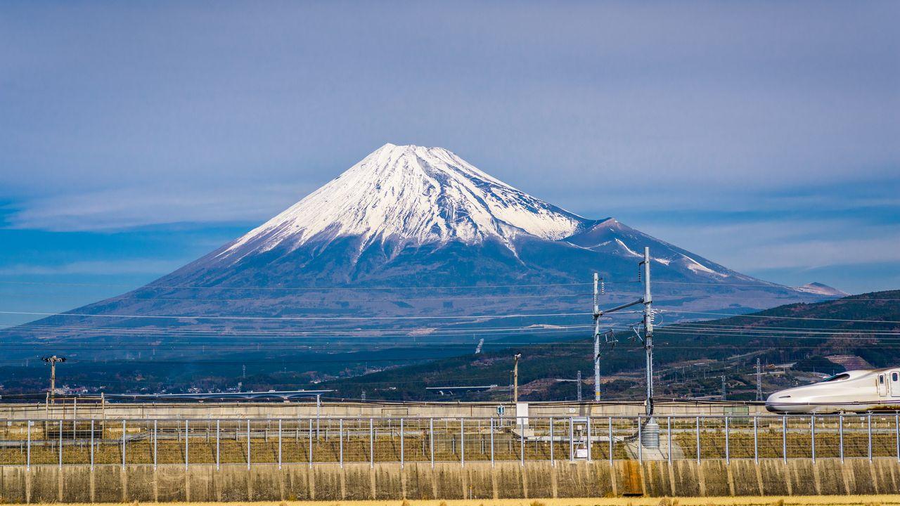 Fuji v Japonsku
