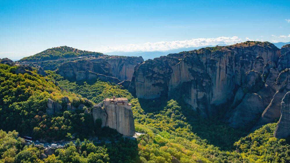 Hory a krajina Korfu