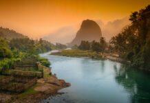 Hory v Laosu