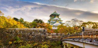 Hrad ve městě Osaka