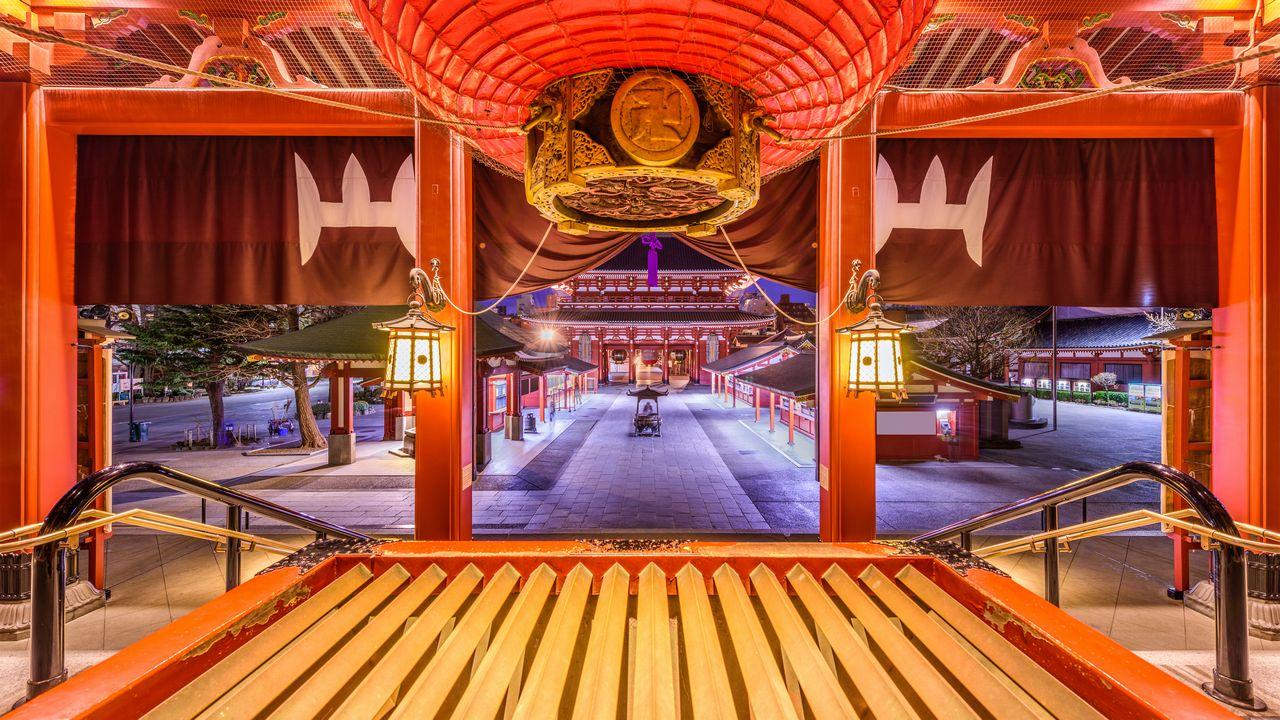 Japonská architektura Tokio