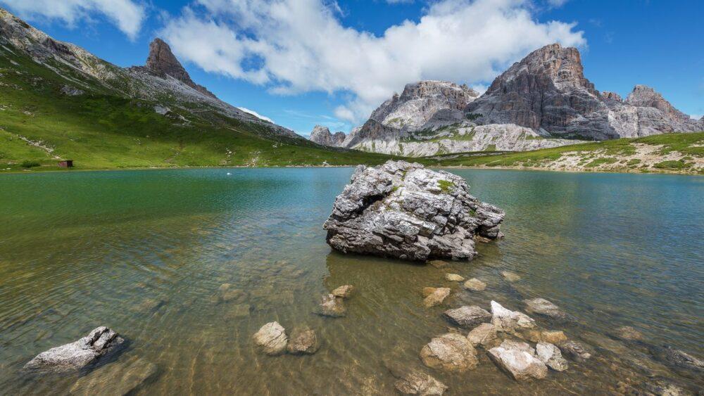 Jezero Dolomity
