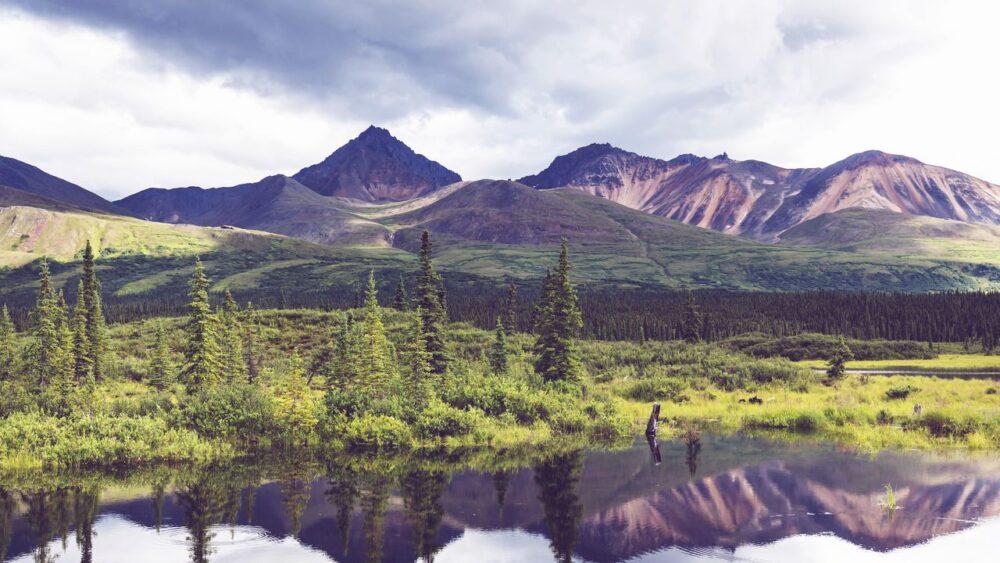 Jezero na Aljašce