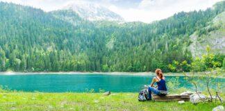 Jezero v národním parku Durmitor