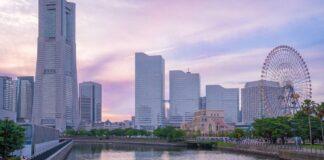 Jokohama moderní architektura