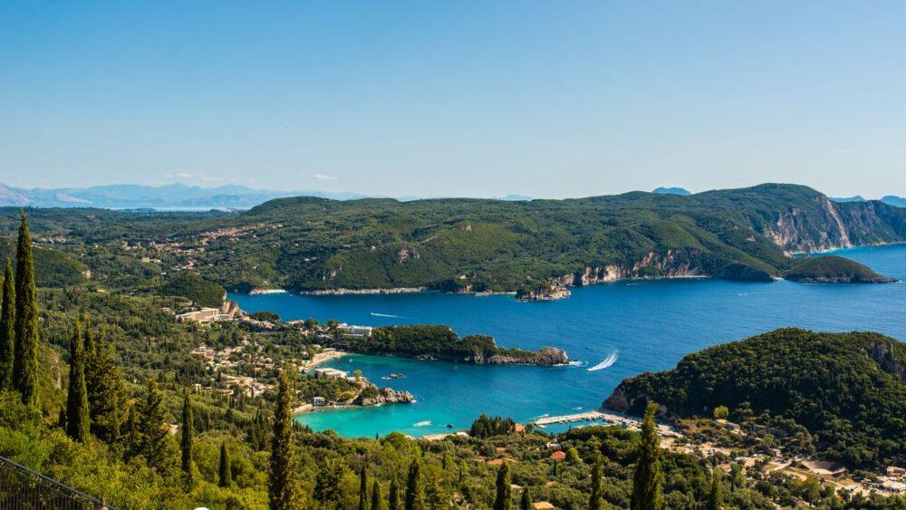 Krajina ostrova Korfu