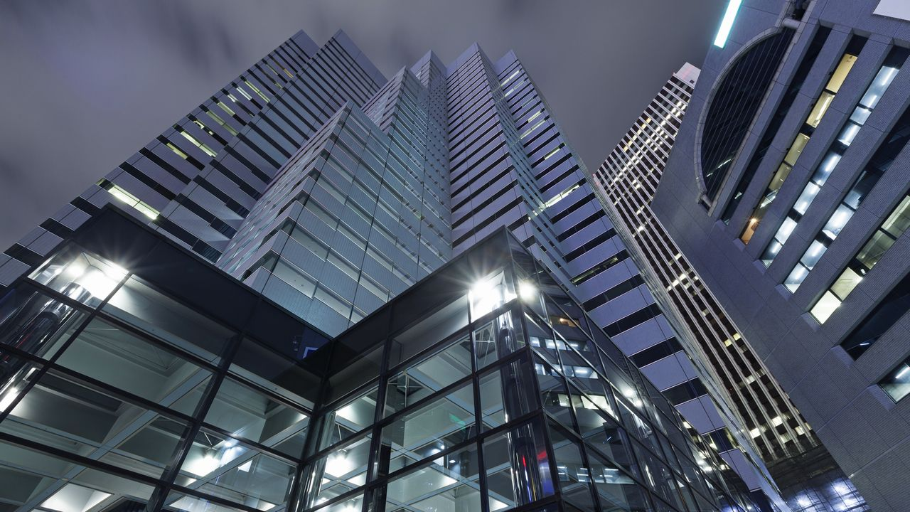 Moderní architektura Tokio