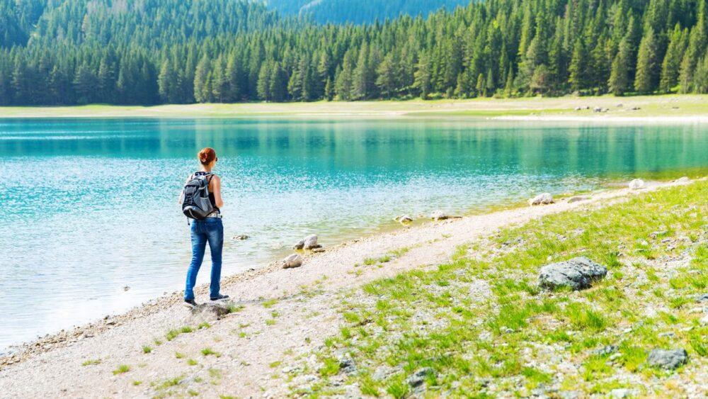 Národní park Durmitor Jezero