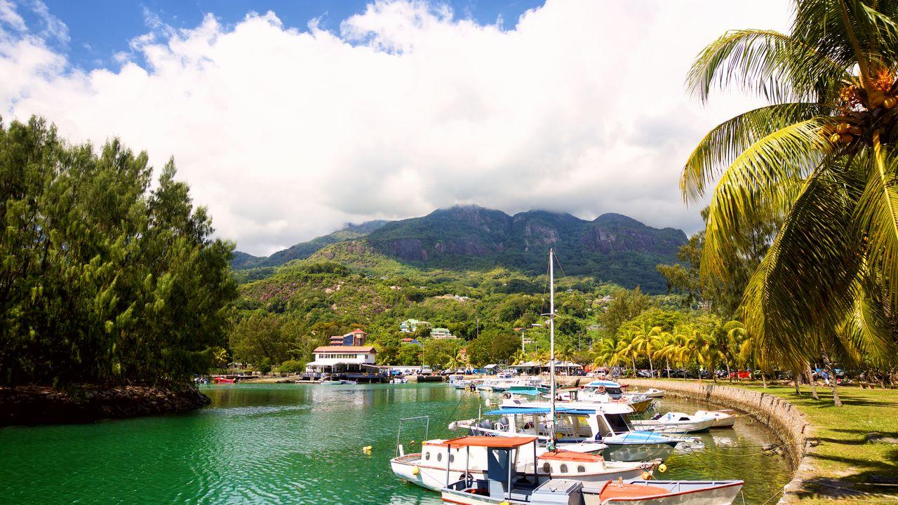 Přístav na Seychelách