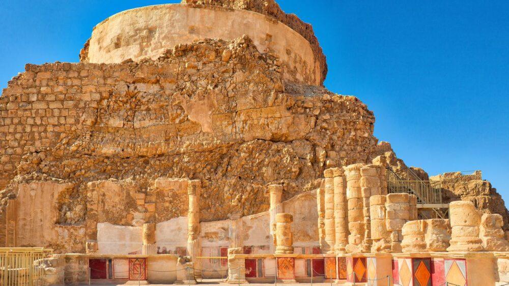 Palác Herodese - Masada