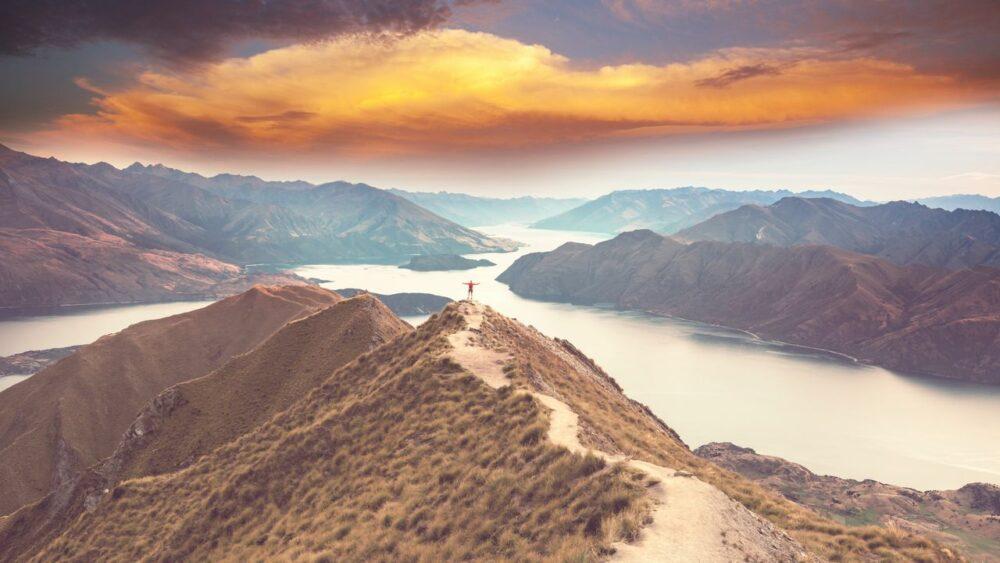 Panorama-jezero-Wanaka