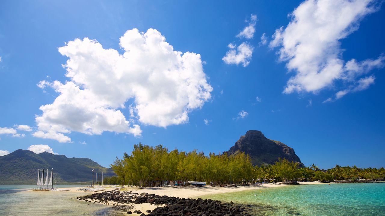 Pláže a krajina Mauricius