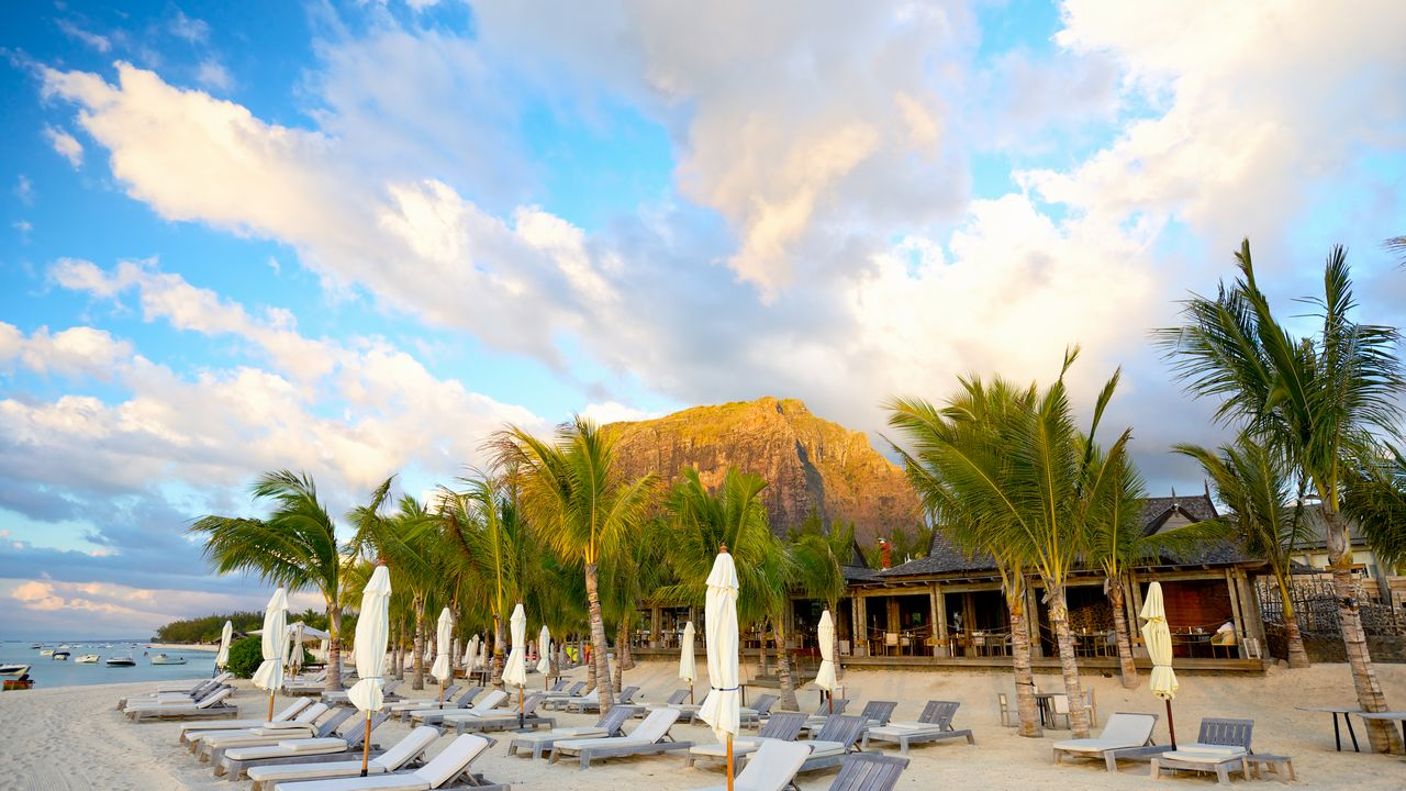 Pláže na ostrově Mauricius