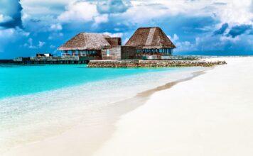 Plaz na Maledivach