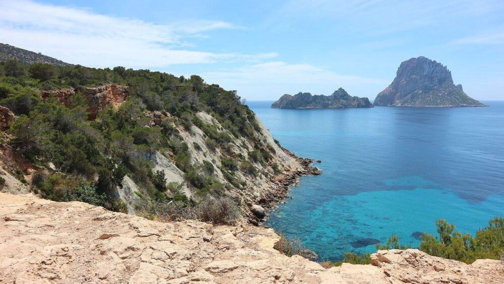 Pobřeží Ibiza
