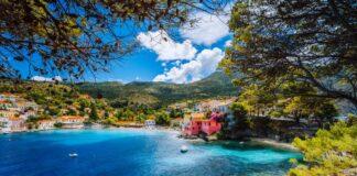 Pobřeží ostrova Korfu