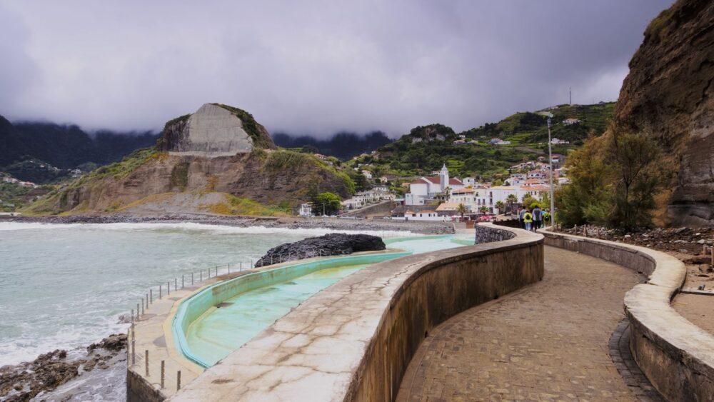 Porto de Cruz ostrov Madeira