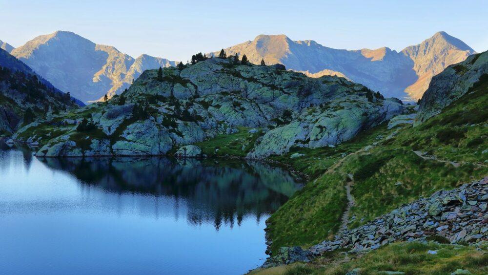 Pyreneje-panorama