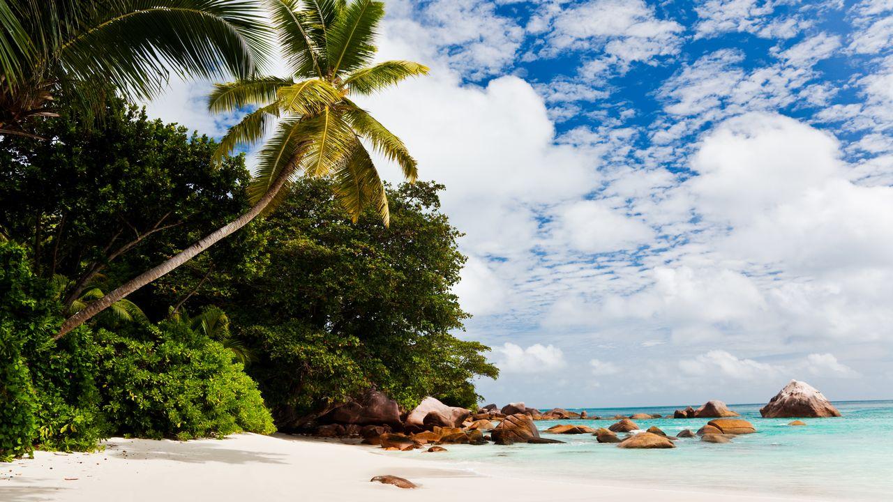 Seychely pláže