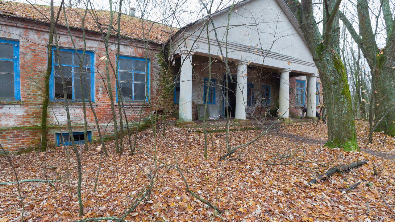 Opuštěná školka ve městě Pripjat