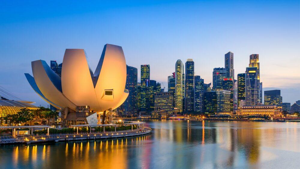 Stmívání v Singapuru