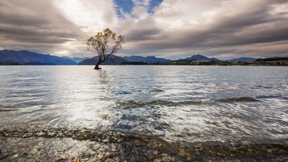 Strom-jezero-Wanaka