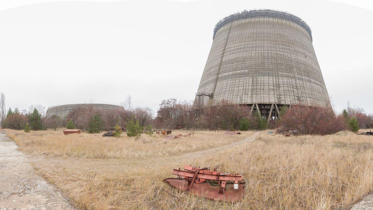 Věž elektrárny Černobyl