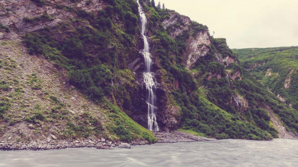 Vodopád Aljaška