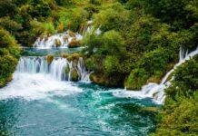 Vodopád v národním parku Krka