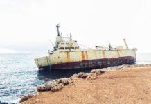 Vrak lodi Kypr