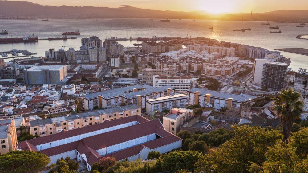Západ slunce Gibraltar