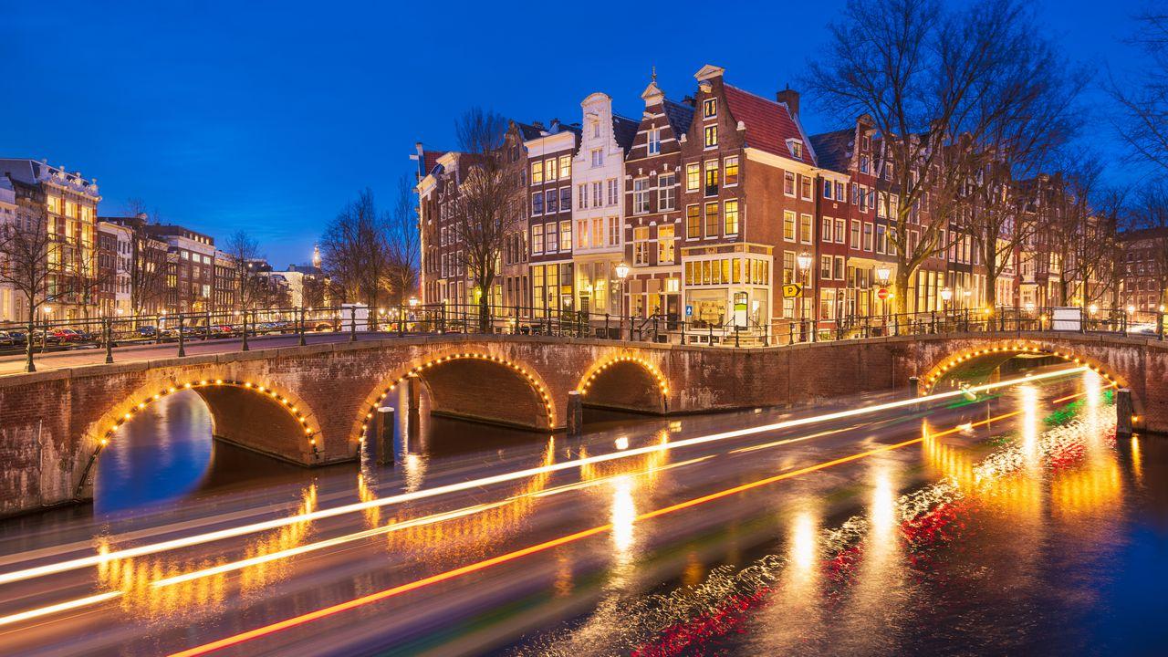 Most v Amsterdamu